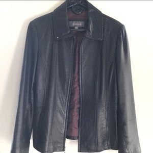 Liz Claiborne Leather Jacket - soft to the touch!
